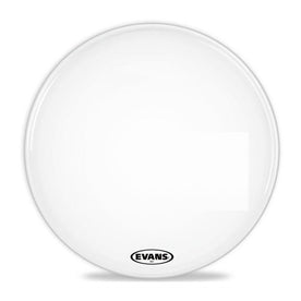 Evans BD20MX1W 20inch MX1 White - Marching Bass