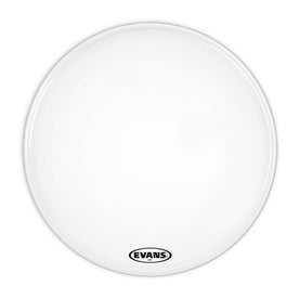 Evans BD28MX1W 28inch MX1 White - Marching Bass