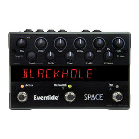 Eventide Space Reverb Guitar Effects Pedal, EUR Plug