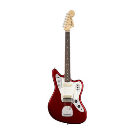 Fender American Original 60s Jaguar Electric Guitar, RW FB, Candy Apple Red