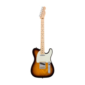 Fender American Professional Telecaster Electric Guitar, Maple FB, 2-Tone Sunburst
