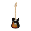 Fender Classic Series 72 Telecaster Deluxe Guitar, Maple Neck, 3-Tone Sunburst, w/Gigbag