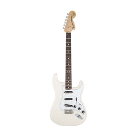 Fender Artist Ritchie Blackmore Stratocaster Guitar, Scalloped RW Neck, Olympic White