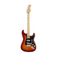 Fender Player Plus Top Stratocaster Electric Guitar, Maple FB, Aged Cherry Burst