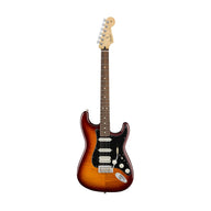 Fender Player HSS Plus Top Stratocaster Electric Guitar, Pau Ferro FB, Tobacco Sunburst