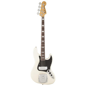 Fender American Vintage 74 Jazz Bass Guitar, RW Neck, Olympic White