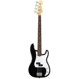 Fender American Standard Jazz 4-String Bass, RW FB, Black