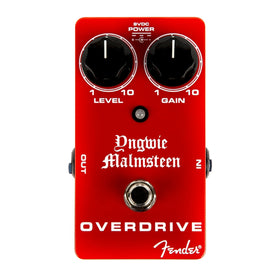 Fender Yngwie Malmsteen Overdrive Guitar Effects Pedal