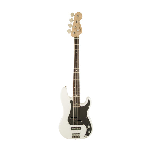 Squier Affinity Precision PJ Bass Guitar, Laurel FB, Olympic White
