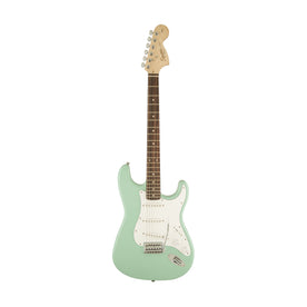 Squier Affinity Series Stratocaster Electric Guitar, Laurel FB, Surf Green