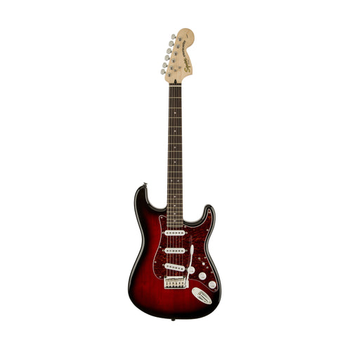 Squier Standard Stratocaster Electric Guitar, Antique Burst