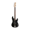 Squier Affinity Series PJ Bass Guitar Pack w/Gig Bag & Rumble 15 Amplifier, Black, 230V UK
