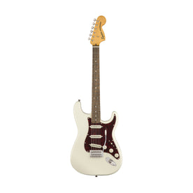 Squier Classic Vibe 70s Stratocaster Electric Guitar, Laurel FB, Olympic White