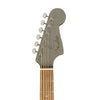 Fender California Redondo Player Slope-Shouldered Acoustic Guitar, Walnut FB, Slate Satin