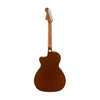 Fender California Newporter Player Medium-Sized Acoustic Guitar, Rustic Copper