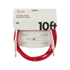 Fender Original Series Instrument Cable, 10ft, Fiesta Red