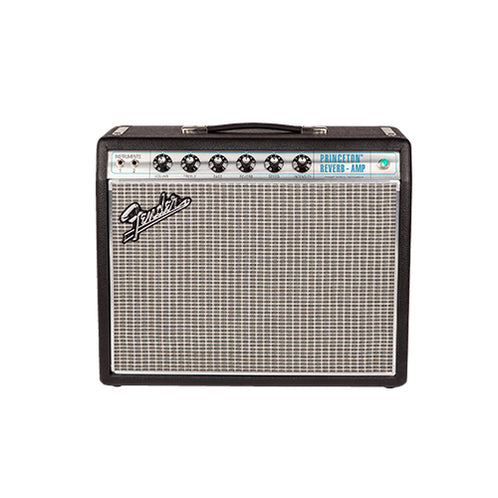 Fender Vintage Modified 68 Custom Princeton Reverb Guitar Tube Amplifier, Black, UK