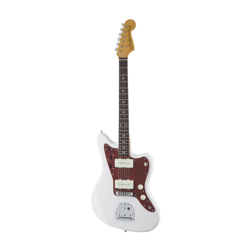 Fender Japan Traditional 60s Jazzmaster Electric Guitar, RW FB, Arctic White