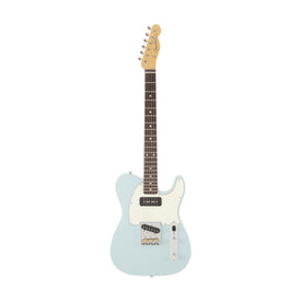 Fender Japan FSR Hybrid 60s Telecaster P90 Electric Guitar, Sonic Blue