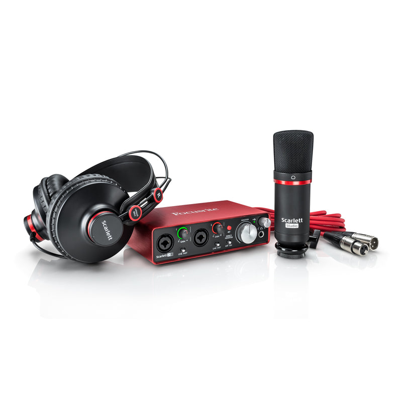 Focusrite Scarlett 2i2 Studio Pack (2nd Gen)