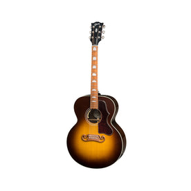 Gibson 2018 SJ-200 Studio Acoustic Guitar w/Case, Walnut Burst