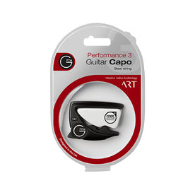 G7th Performance 3 Guitar Capo, Black