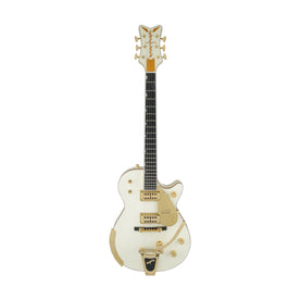 Gretsch G6134T-58 Vintage Select '58 Penguin Electric Guitar, Vintage White