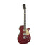 Gretsch G6228FM Players Edition Jet BT Guitar w/V-Stoptail, Crimson Stain