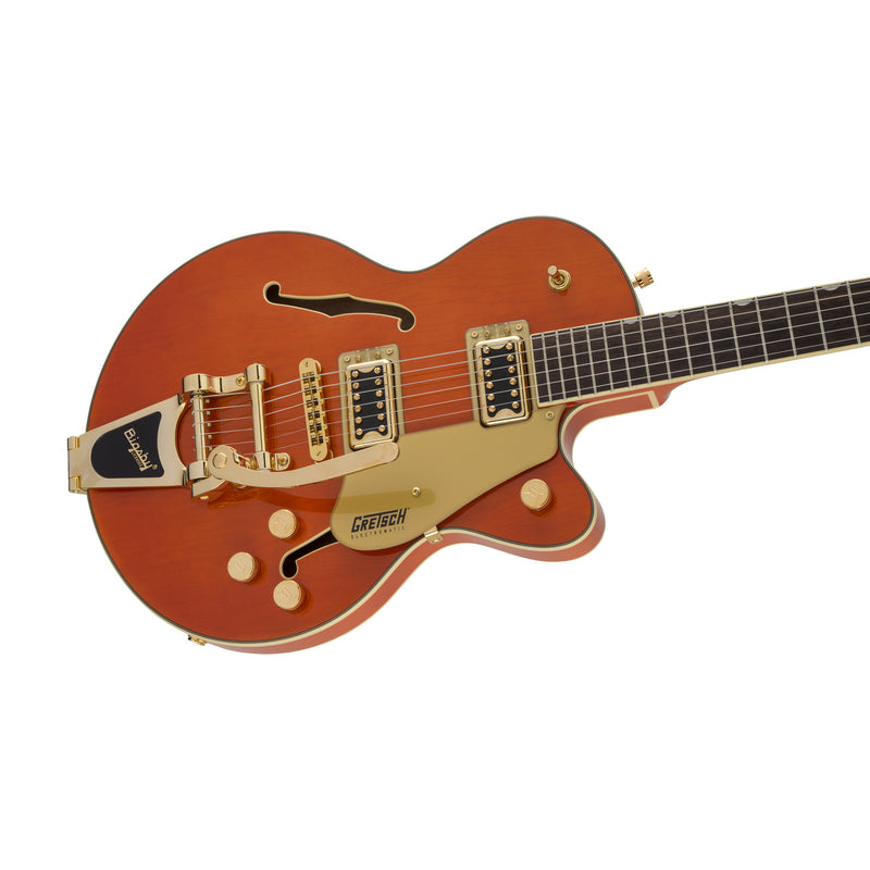 Gretsch G5655TG Electromatic Centre Block Jr Single-Cut Guitar w/Bigsby, Orange Stain