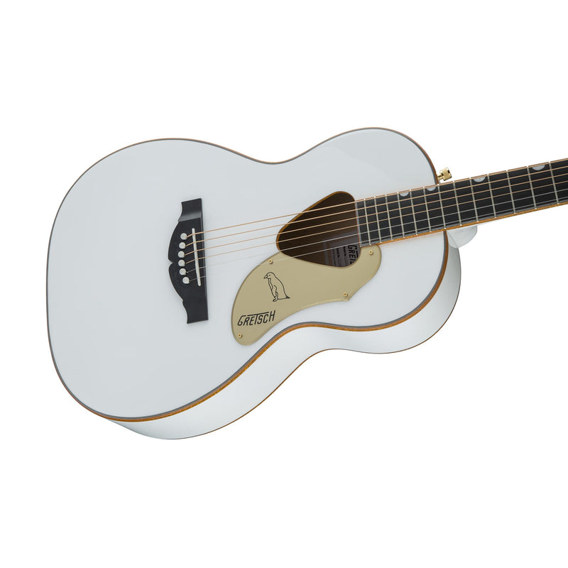Gretsch G5021WPE Rancher Penguin Parlor Acoustic Guitar, White