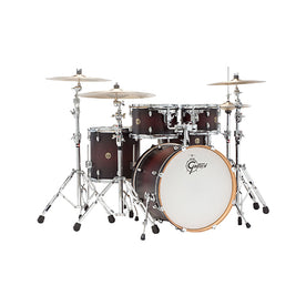 Gretsch CM1-E825-SDCB Catalina Maple 5-Piece Drum Shell Kit(22inch Bass), Satin Deep Cherry Burst