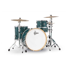 Gretsch CC1-R444-OT Catalina Club 4-Piece Drum Shell Kit Set, Ocean Twilight Pearl