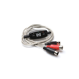 Hosa USM-422 USB MIDI Cable, 6ft