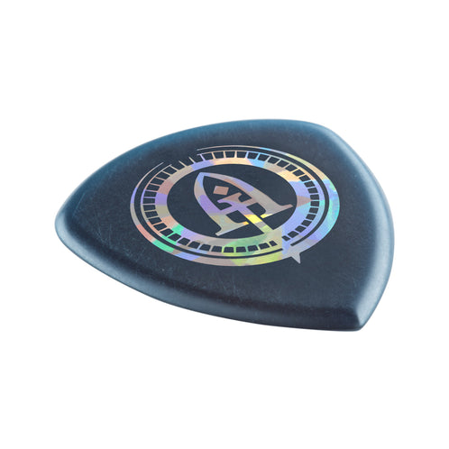 Jim Dunlop 546PAJ2.0 ANDY James Blue Flow Jumbo Guitar Pick, Pack of 3