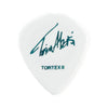 Jim Dunlop AALP03 .60 Tosin Abasi Tortex Jazz III XL Guitar Pick, White, 6-Pick Player's Pack