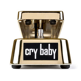 Jim Dunlop GCB95G Gold Cry Baby Wah Guitar Effects Pedal
