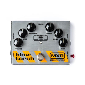 MXR M181 Bass Blow Torch Distortion Guitar Effects Pedal