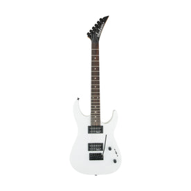 Jackson JS Series Dinky JS11 Electric Guitar, Amaranth FB, Snow White