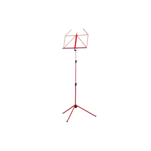 K&M 10080-000-59 Music Stand, Red