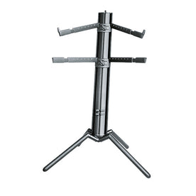 K&M 18860-000-35 Spider Pro Keyboard Stand, Black Anodized