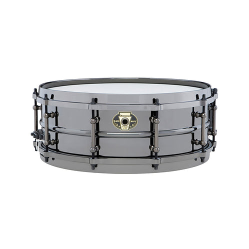 Ludwig LW5514DIR 5.5x14inch Black Magic Snare w Black Nickle Hardware and Die-Cast Hoops