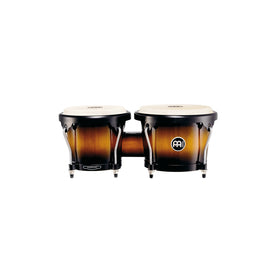 MEINL Percussion HB100VSB WOOD Headliner Series Wood Bongo, Vintage Sunburst