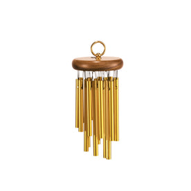 MEINL Percussion CH-H18 Hand Chimes, 18 Bars, Gold Anodized Aluminum Alloy