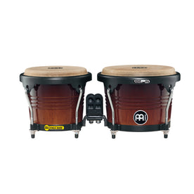 MEINL Percussion FWB190CB 6-3/4+8inch Marathon Designer Series Wood Bongo, Coffee Burst