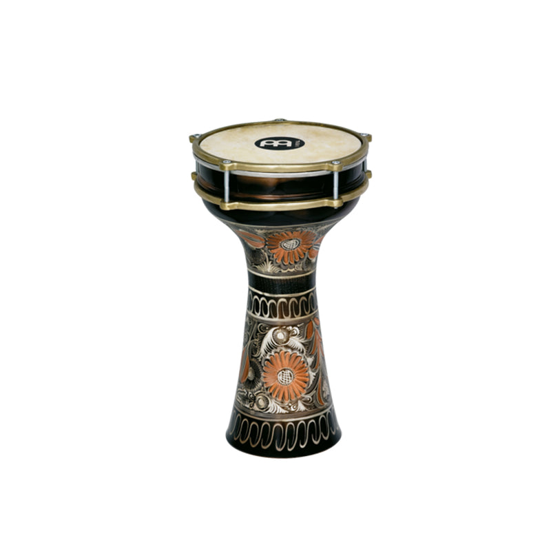 MEINL Percussion HE-205 7 7/8inch Copper Darbuka, Hand-Engraved