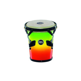 MEINL Percussion HFDD3MC 7 1/5inch Fiberglass Dancing Family Drum, Multi Color