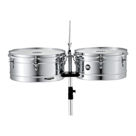 MEINL Percussion HT1314CH 13+14inch Headliner Series Timbales, Chrome