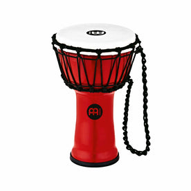 MEINL Percussion JRD-R 7inch Jr. Djembe, Red