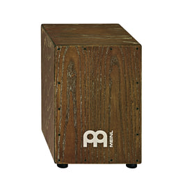 MEINL Percussion MCAJ100VBR Headliner Designer Series Snare Cajon, Vintage Brown
