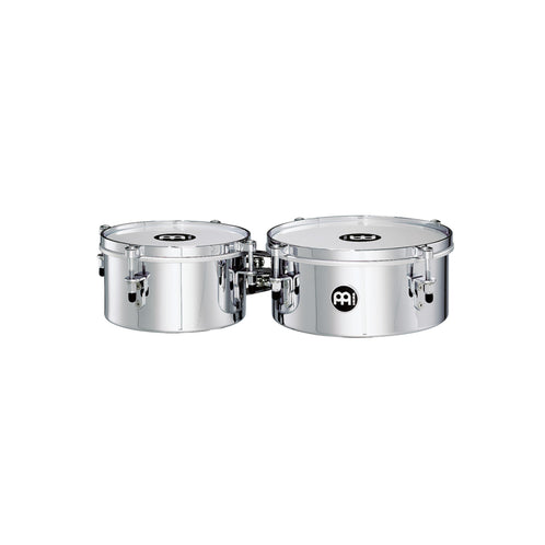 MEINL Percussion MIT810CH 8inch Mini Timbale, Chrome